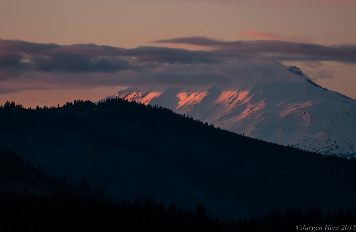Mt Adams sunset 0001